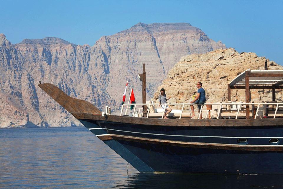 Omã - passeio de barco