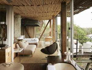 Singita Lebombo Lodge, Kruger, South Africa. Agency HKLM. Art Director: Paul Henriques. Stylist: Georgina Pennington. Photographer: Mark Williams. 18/11/11